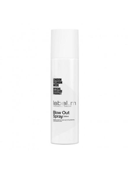 label.m BLOW OUT SPRAY nuo karščio apsaugantis purškiklis, 200 ml.